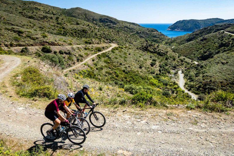 riding gravel bikes by the mediterranean sea with thomson bike tours new beyond tarmac trips