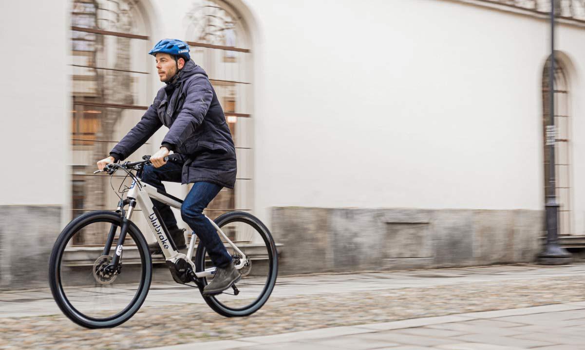 Blubrake ABS G2 bicycle anti-lock braking system, smaller lighter bike antilock brakes,eMTB