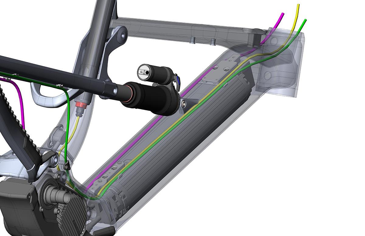 nukeproof megawatt internal cable routing