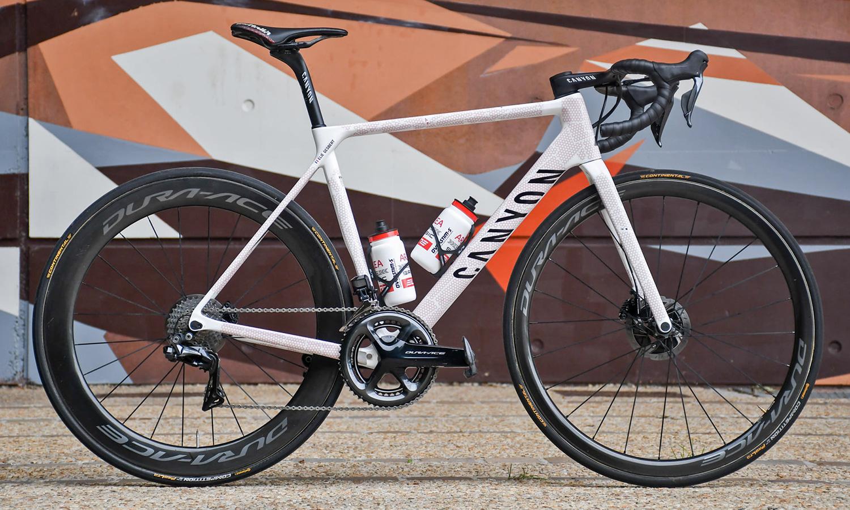 Canyon Ultimate CF SLX 8 Disc TDF limited edition carbon road bike, 108th Tour de France,Elie Gesbert Team Arkea-Samsic
