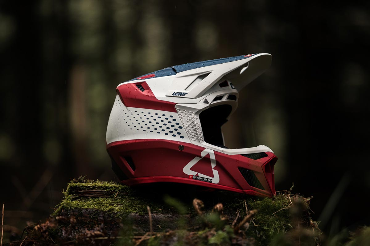 leatt 8.0 dh helmet chilli