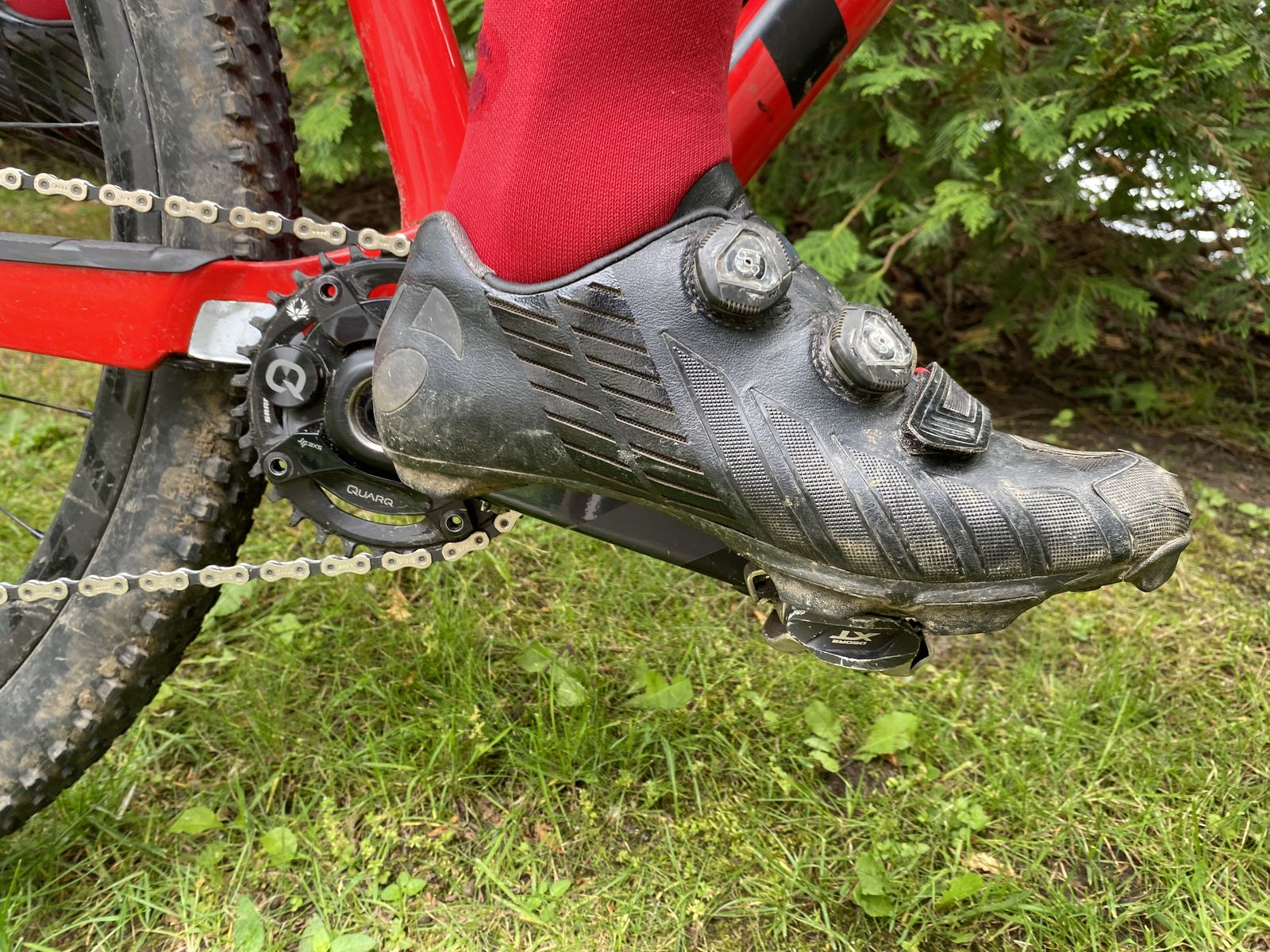bontrager xxx MTB shoes stand the test of time