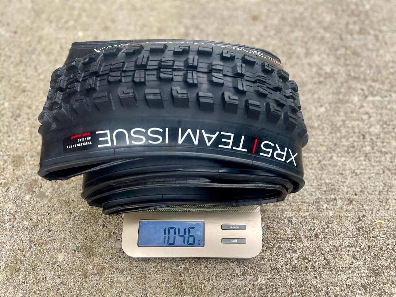 Bontrager XR5 weight