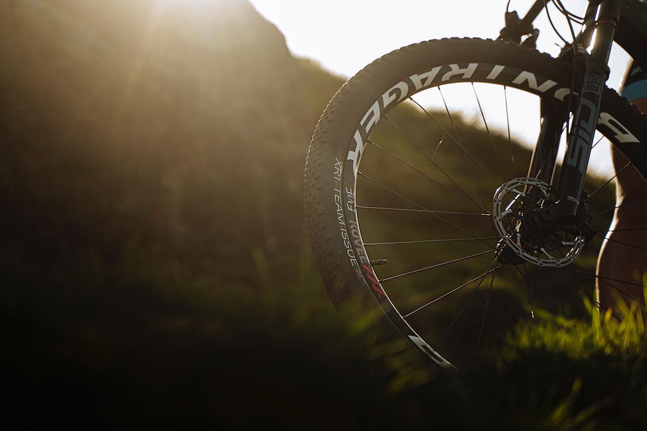 BONTRAGER XR1 tire in the sun