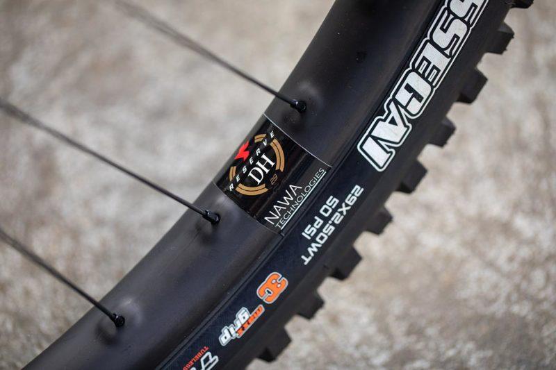 nawastitch reserve dh carbon wheels santa cruz syndicate world cup dh racing