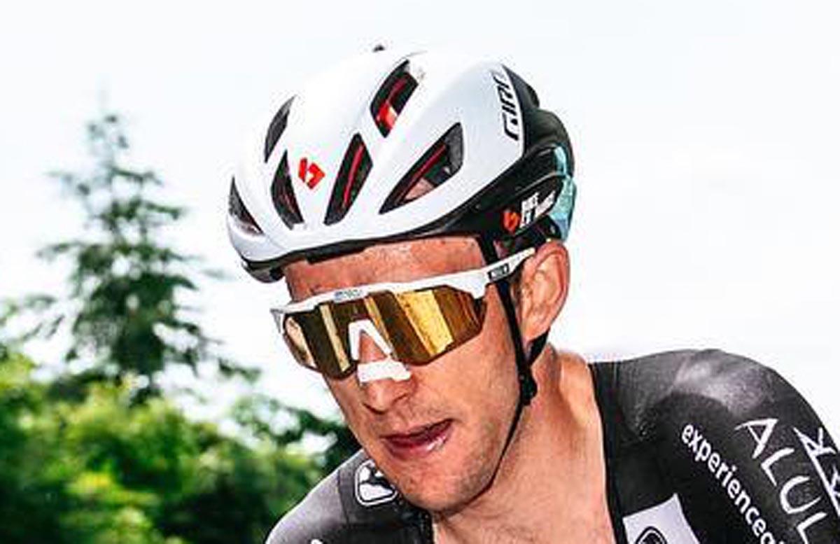 New Giro aero helmet prototype possibly with MIPS Spherical