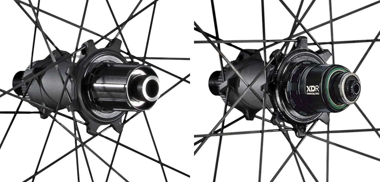Vision Metron 45 60 SL Disc lightweight wide aero carbon road wheels, hubs
