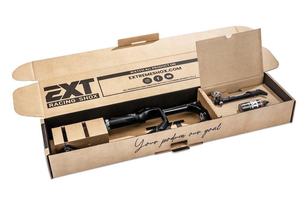 EXT Shox ERA Fork assembly as packaged
