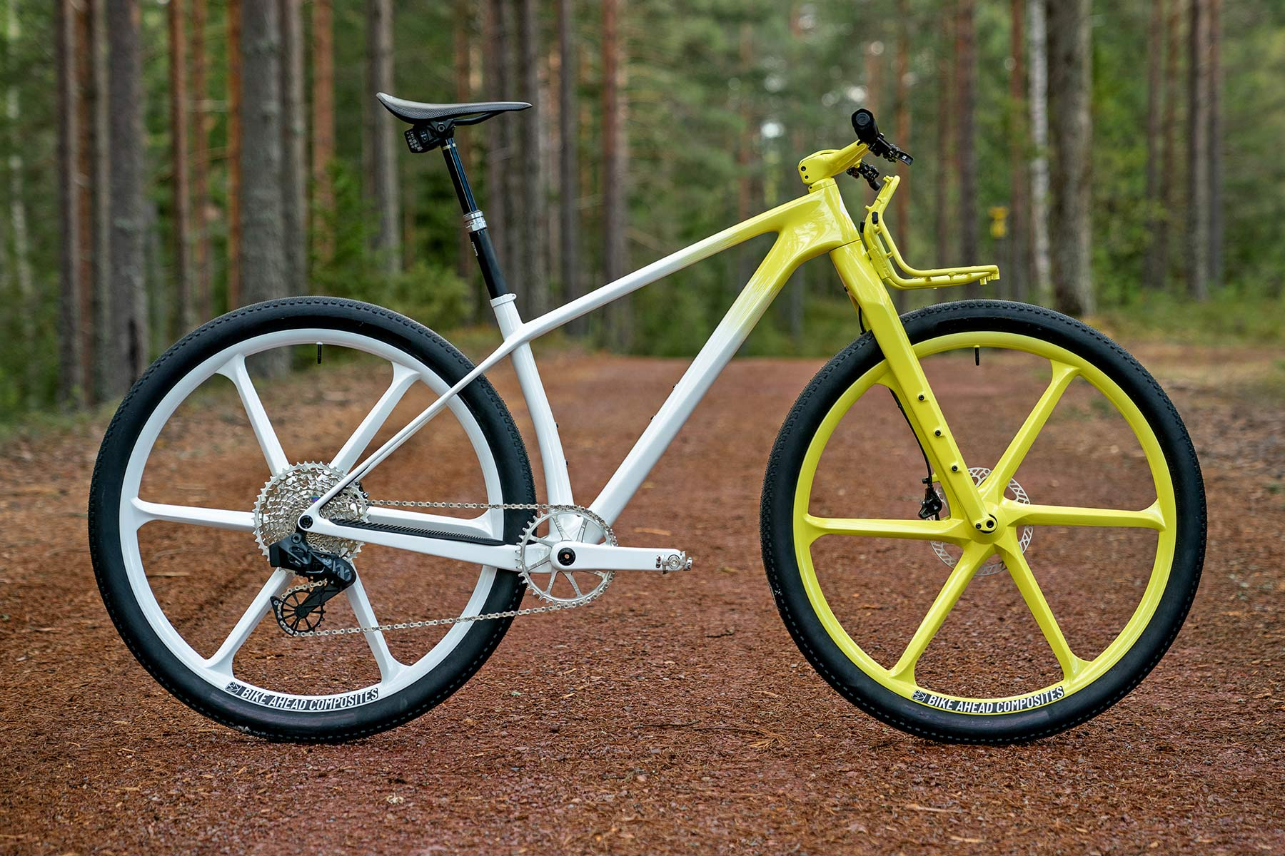 Dangerholm mellow yellow Scott Scale Gravel custom project bike, Gustav Gullholm dream bike builder, photo by Andreas Timfalt,complete