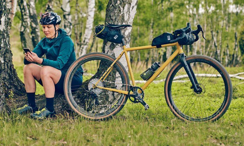 VSF Fahrradmanufaktur GX-1200 limited edition steel gravel bike, made-in-Germany, Johanna Jahnke