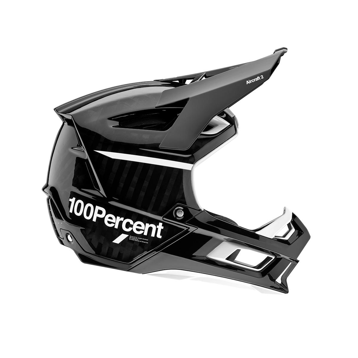 aircraft enduro helmet side profile
