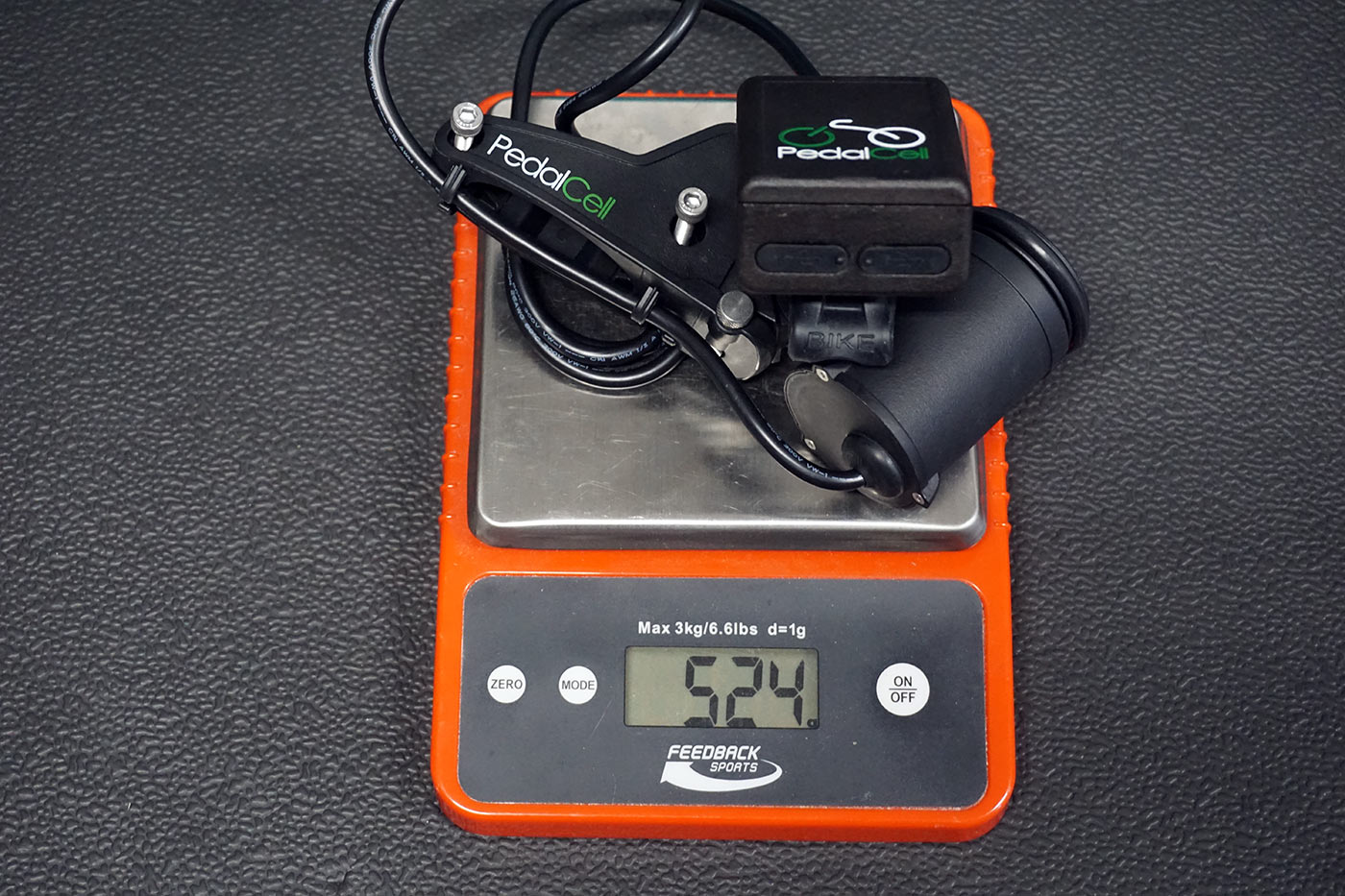 pedalcell dynamo actual weights