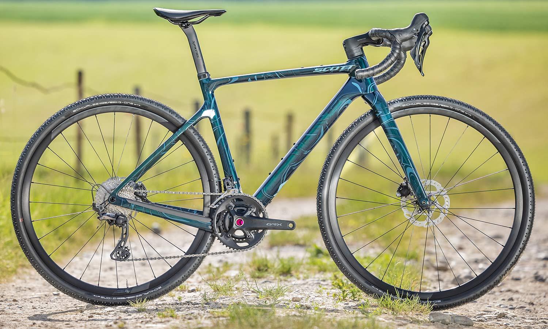 2022 Scott Addict Gravel aero integrated carbon gravel bike,Contessa