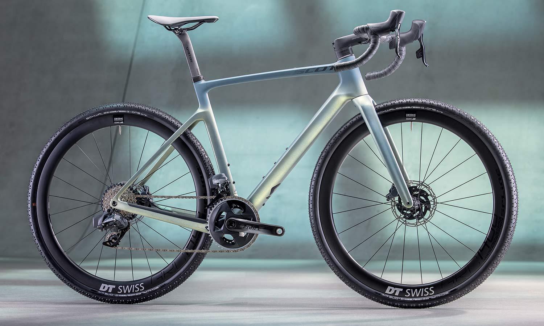 2022 Scott Addict Gravel aero integrated carbon gravel bike,10 complete