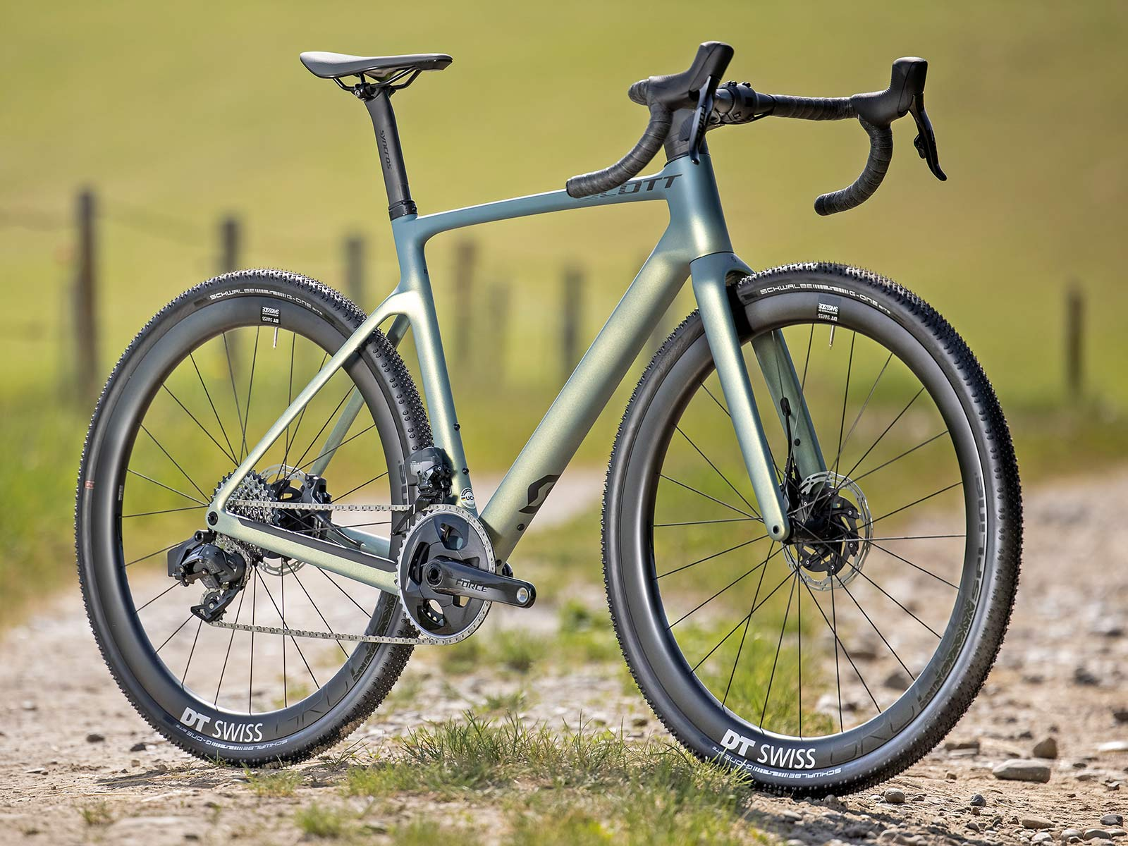 2022 Scott Addict Gravel aero integrated carbon gravel bike,