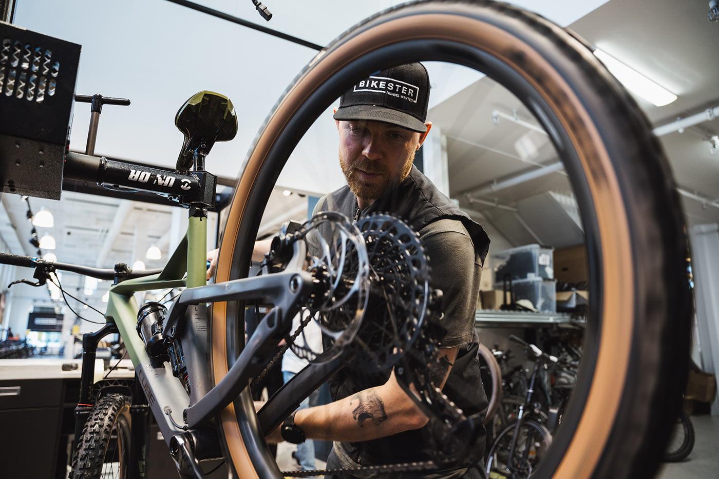 bikester store retail bike shop repair center