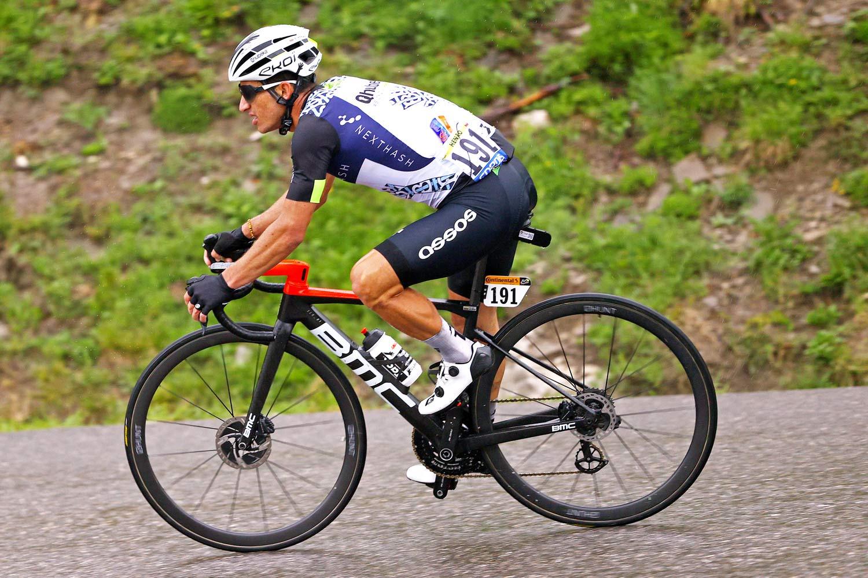 Hunt 36 UD Carbon Spoke Disc Tubular, ultra lightweight 1151g prototype road wheels, Tour de Frnce Stage 8 photos by Damian Murphy ©GettySport descnding