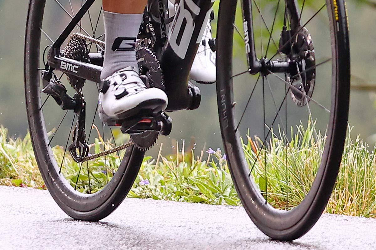 Hunt 36 UD Carbon Spoke Disc Tubular, ultra lightweight 1151g prototype road wheels, Tour de Frnce Stage 8 photos by Damian Murphy ©GettySport