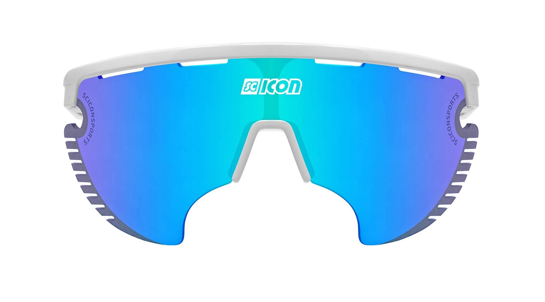 Scicon AeroWing Lamon sunglasses, blue lens front