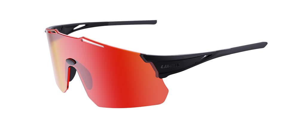 Limar Theros sunglasses matte black red