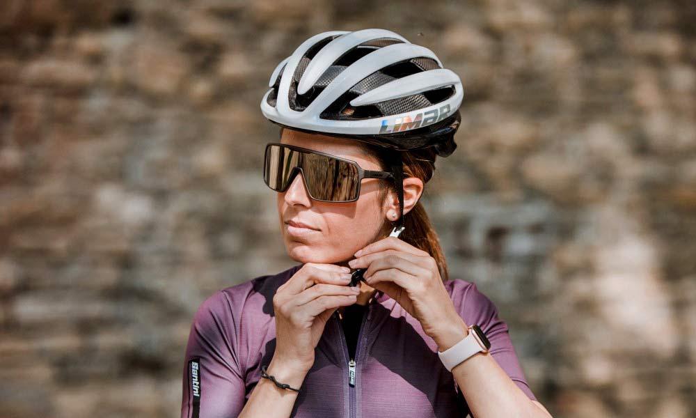 Limar Argo sunglasses matte black titanium gold