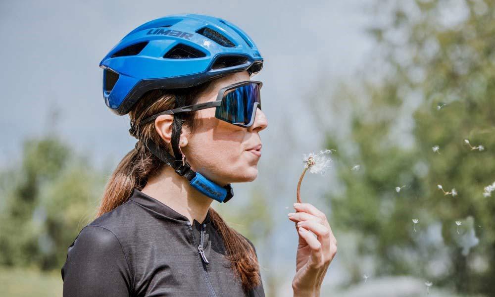 Limar Caos sunglasses matte black blue