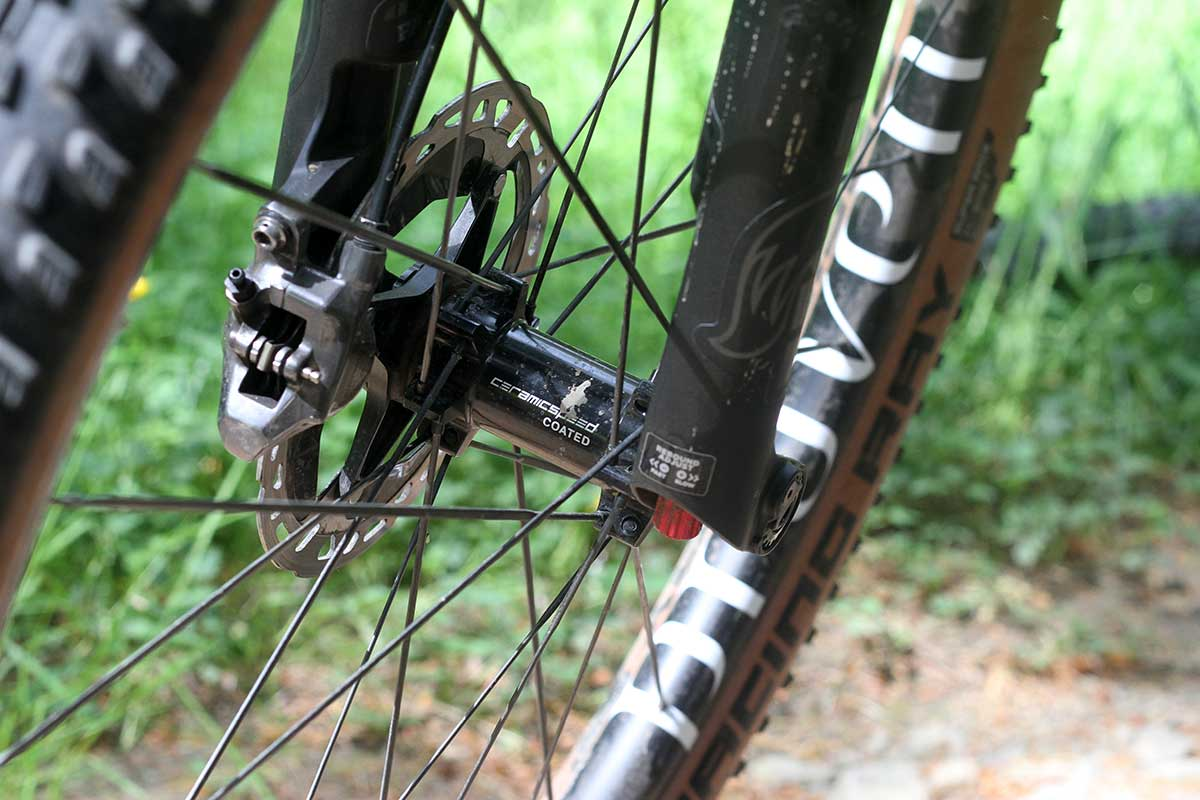 hunt proven carbon xc wheels prototype 26mm internal width rim ceramic speed coated bearings hubset