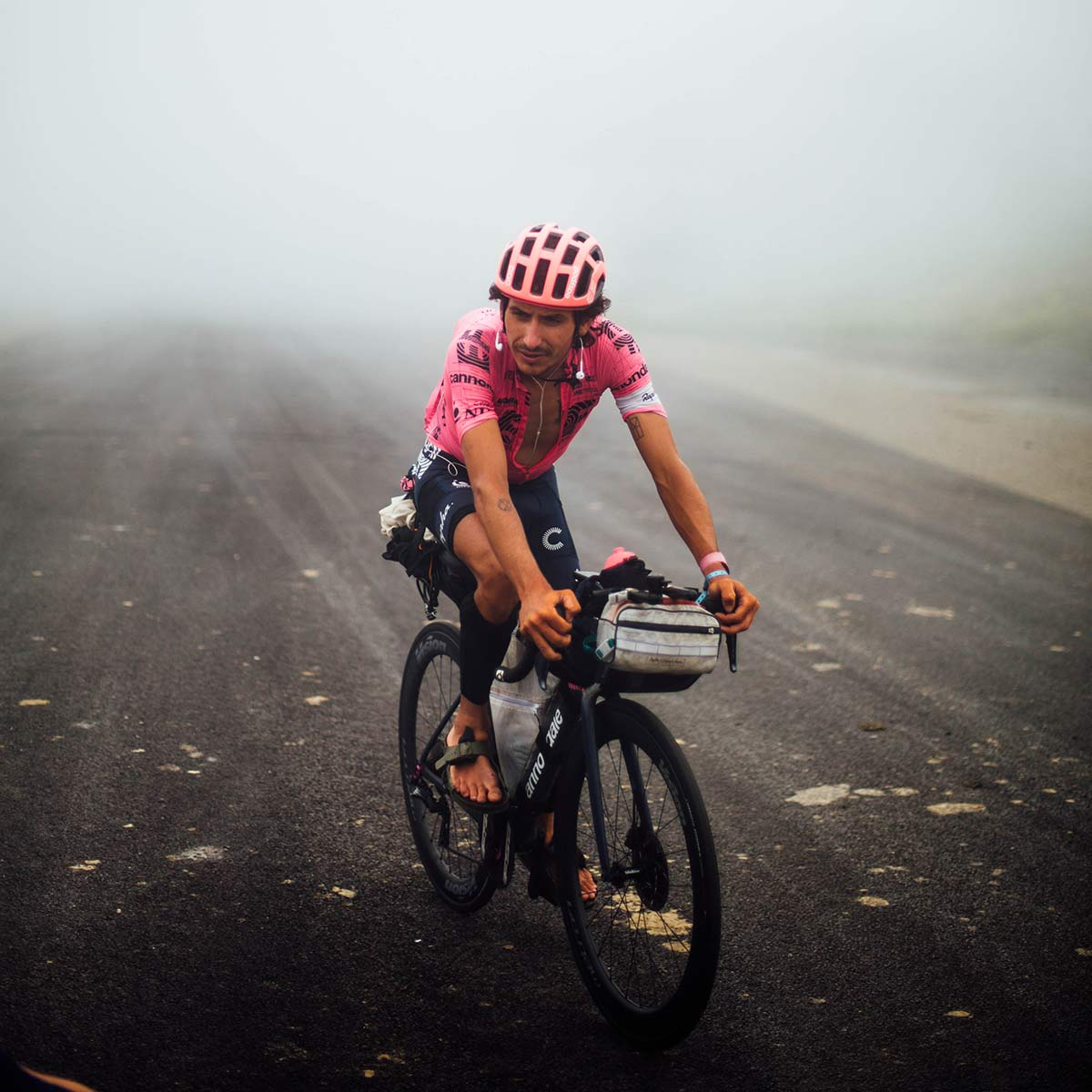 Lachlan Morton Alt Tour de France_ultra distance bikepacking charity ride, photo by Rapha, Day15