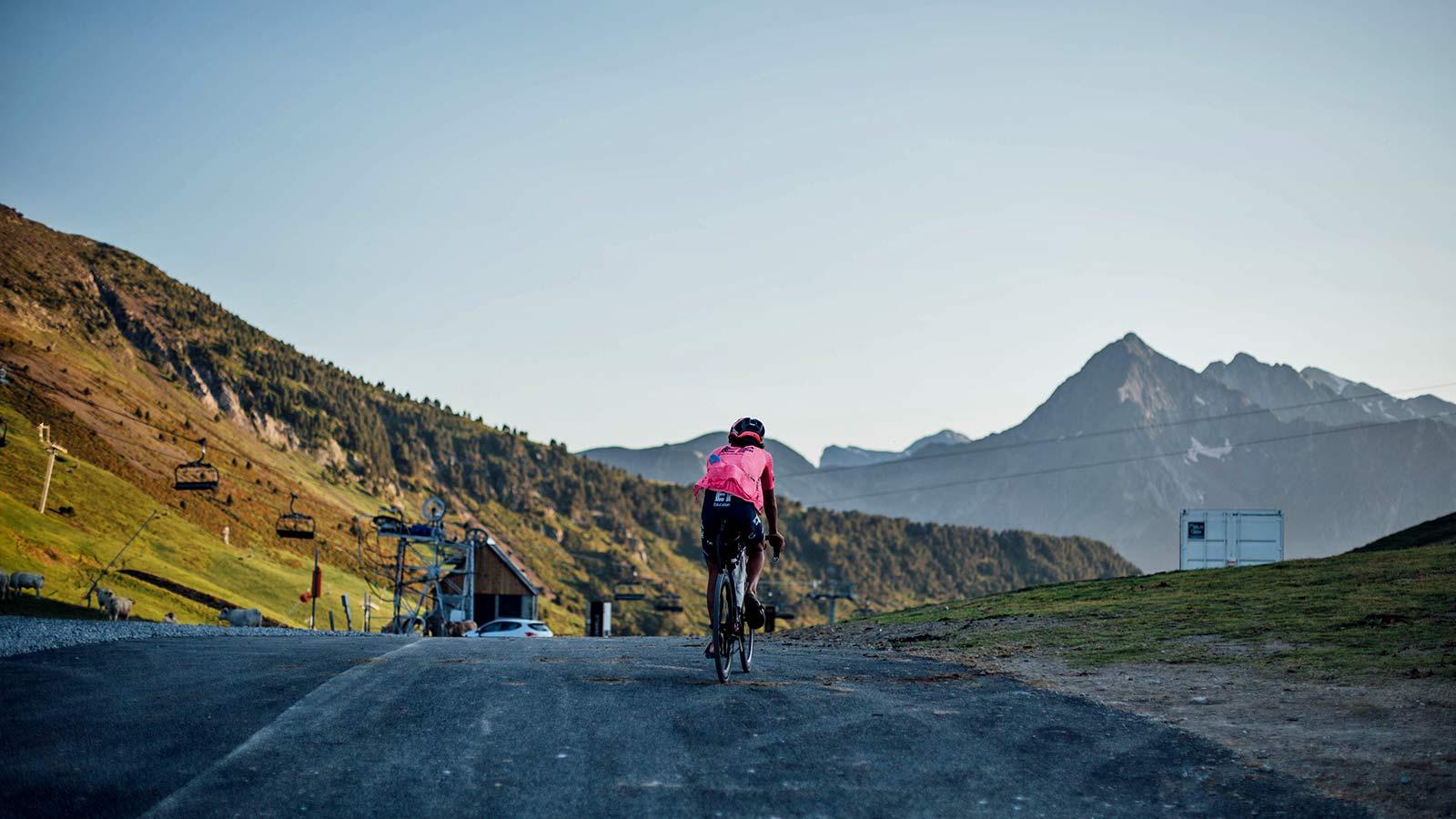 Lachlan Morton Alt Tour de France_ultra distance bikepacking charity ride, photo by Rapha, Day14