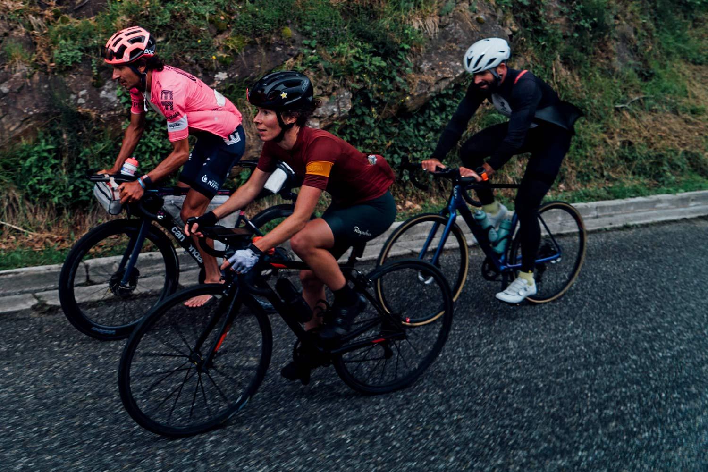 Lachlan Morton Alt Tour de France_ultra distance bikepacking charity ride, photo by Rapha, Day13