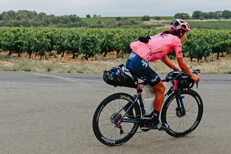 Lachlan Morton Alt Tour de France_ultra distance bikepacking charity ride, photo by Rapha, Day11