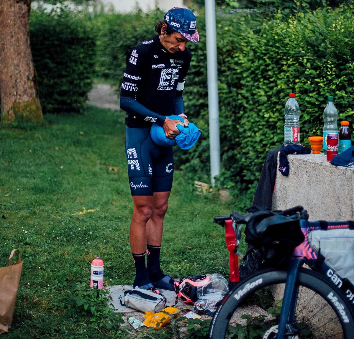 Lachlan Morton Alt Tour de France_ultra distance bikepacking charity ride, photo by Rapha, Day7
