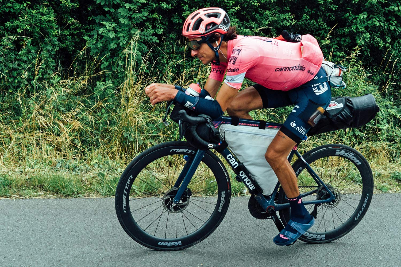 Lachlan Morton Alt Tour de France_ultra distance bikepacking charity ride, photo by Rapha, Day5