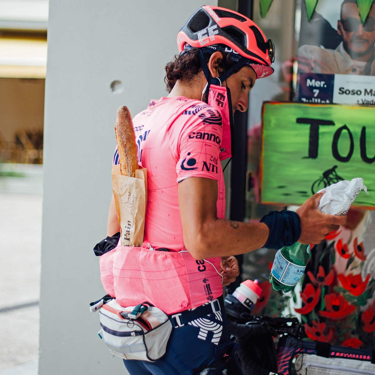 Lachlan Morton Alt Tour de France_ultra distance bikepacking charity ride, photo by Rapha, Day4
