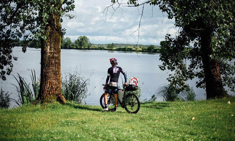 Lachlan Morton Alt Tour de France_ultra distance bikepacking charity ride, photo by Rapha, Day3