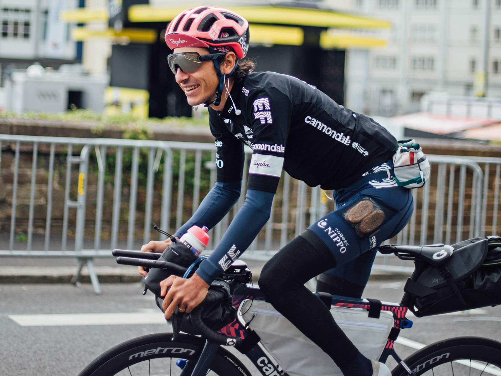 Lachlan Morton Alt Tour de France_ultra distance bikepacking charity ride, photo by Rapha, Day1