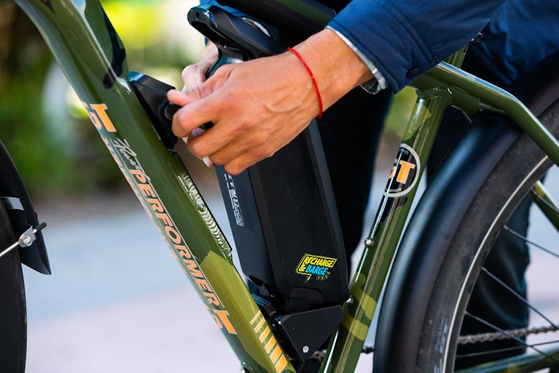 GT Bicycles Power Performer, battery