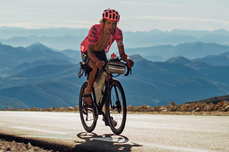 Lachlan Morton Alt Tour de France_ultra distance bikepacking charity ride, photo by Rapha, Day10