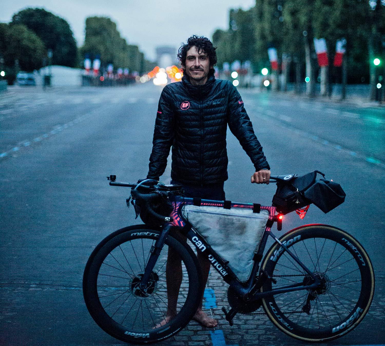 Lachlan Morton Alt Tour de France_ultra distance bikepacking charity ride, photo by Rapha, Day18
