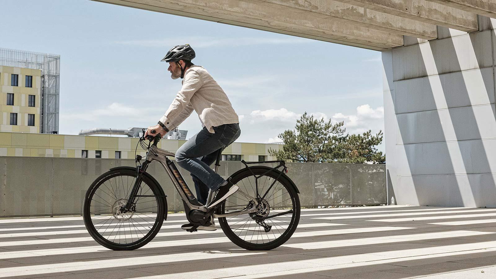 Greyp T5 alloy trekking e-bike hardtail eSUV city commuter