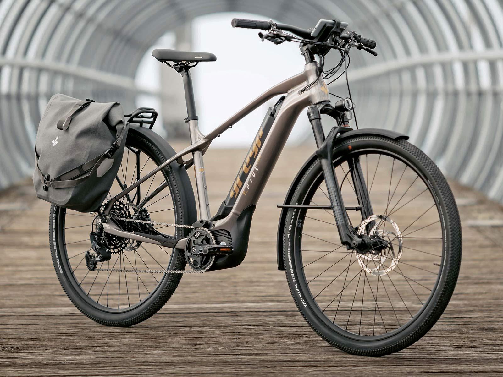 Greyp T5 alloy trekking e-bike hardtail eSUV commuter touring complete