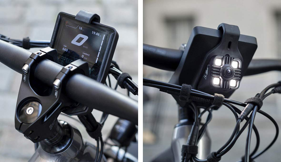 Greyp T5 alloy trekking e-bike hardtail eSUV commuter touring, built-in display & camera