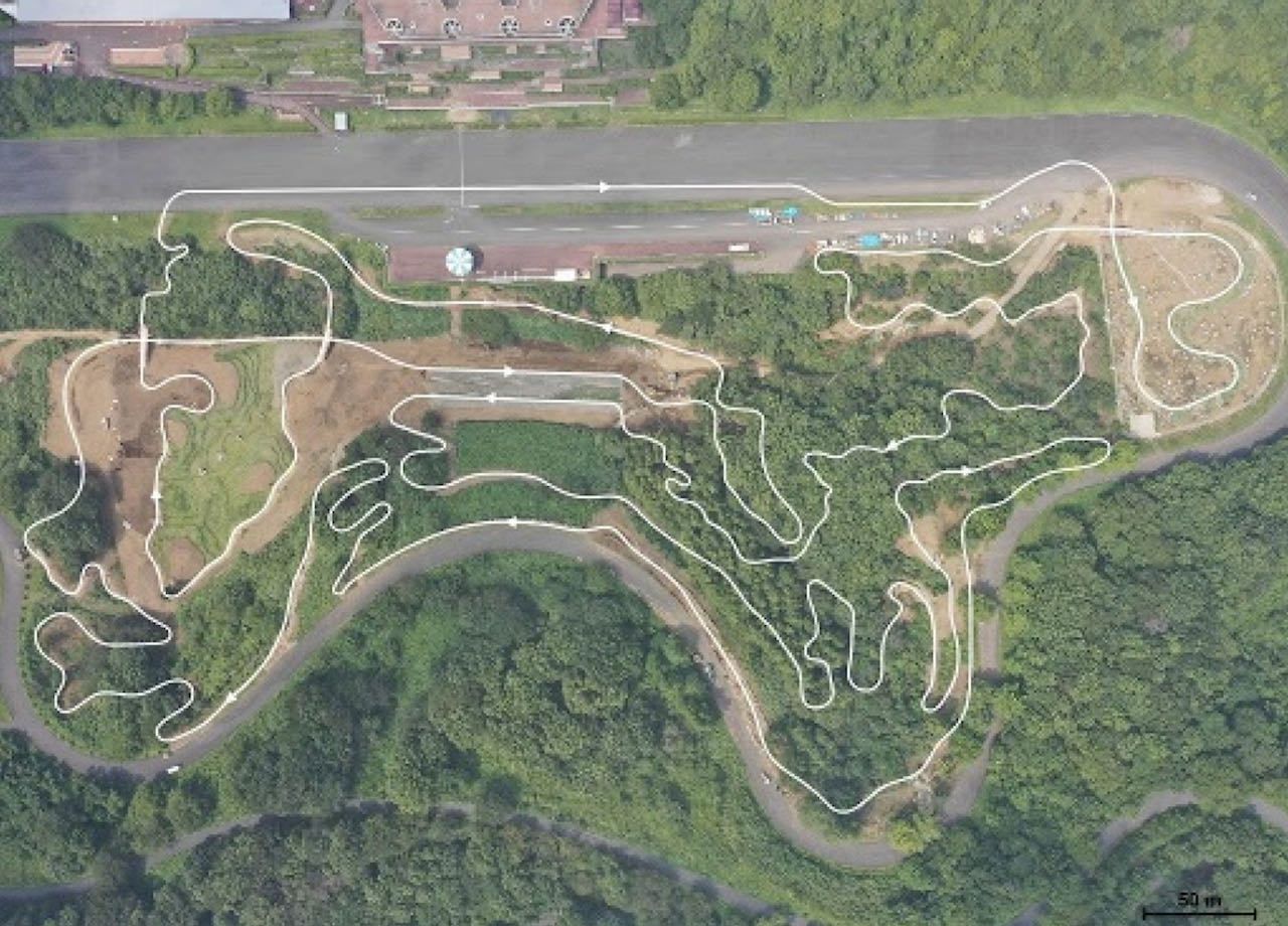 IZU MTB PARK track