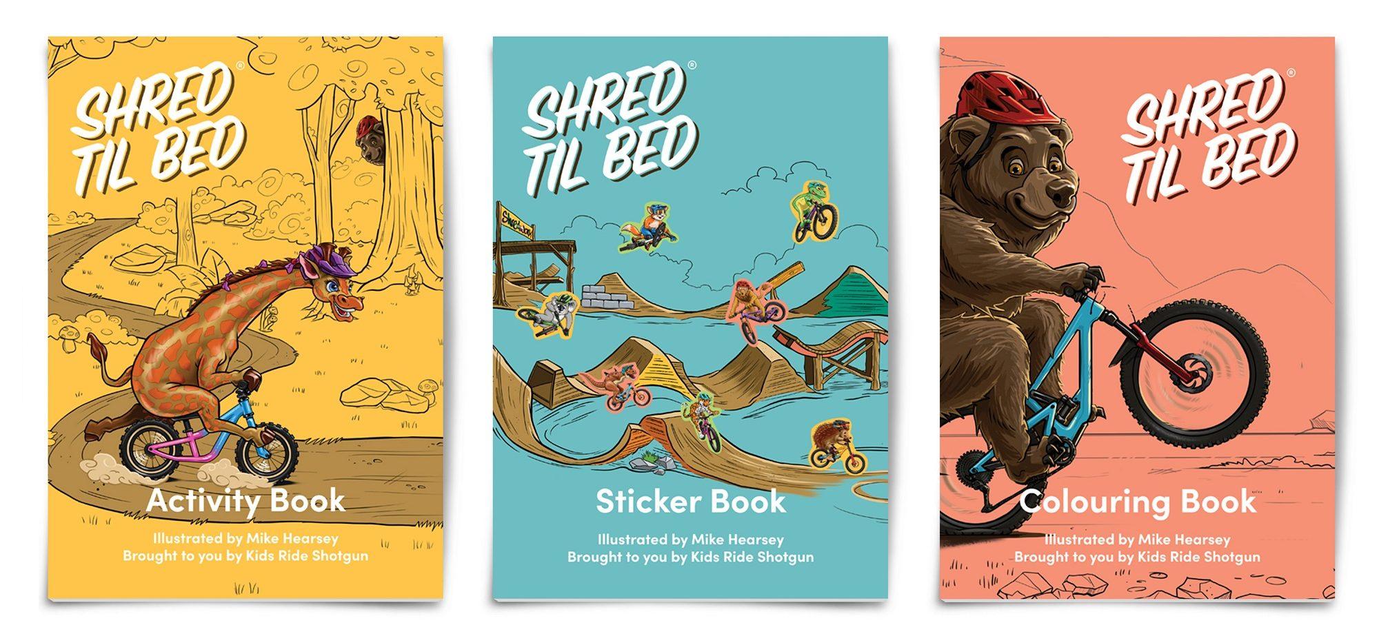Shred til bed activity bundle