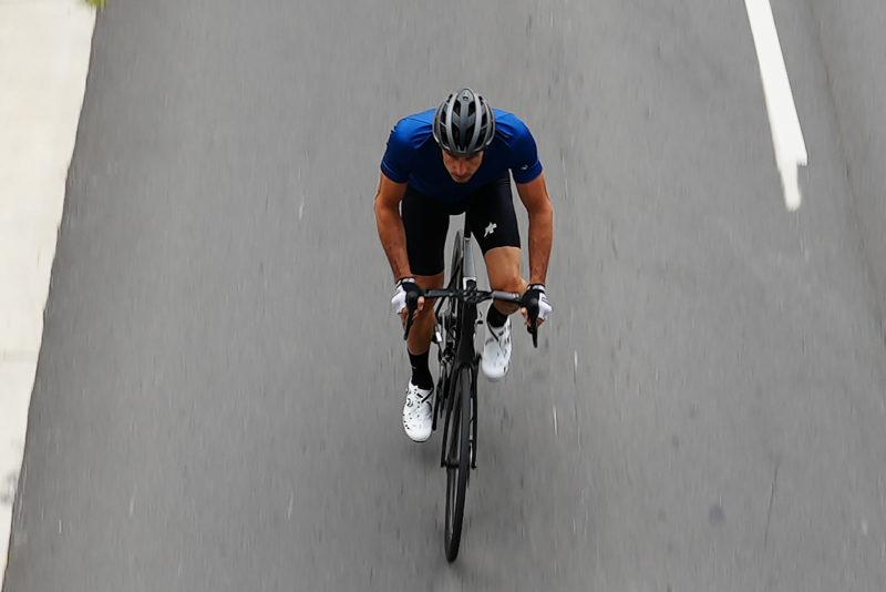 safest road bike helmet for 2021 ridden down the street