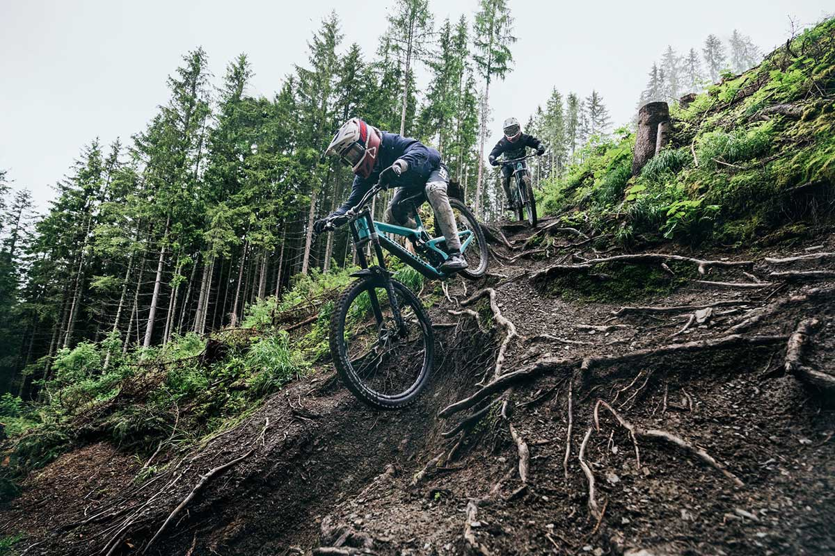 2022 propain rage cf downhill world cup racing schladming