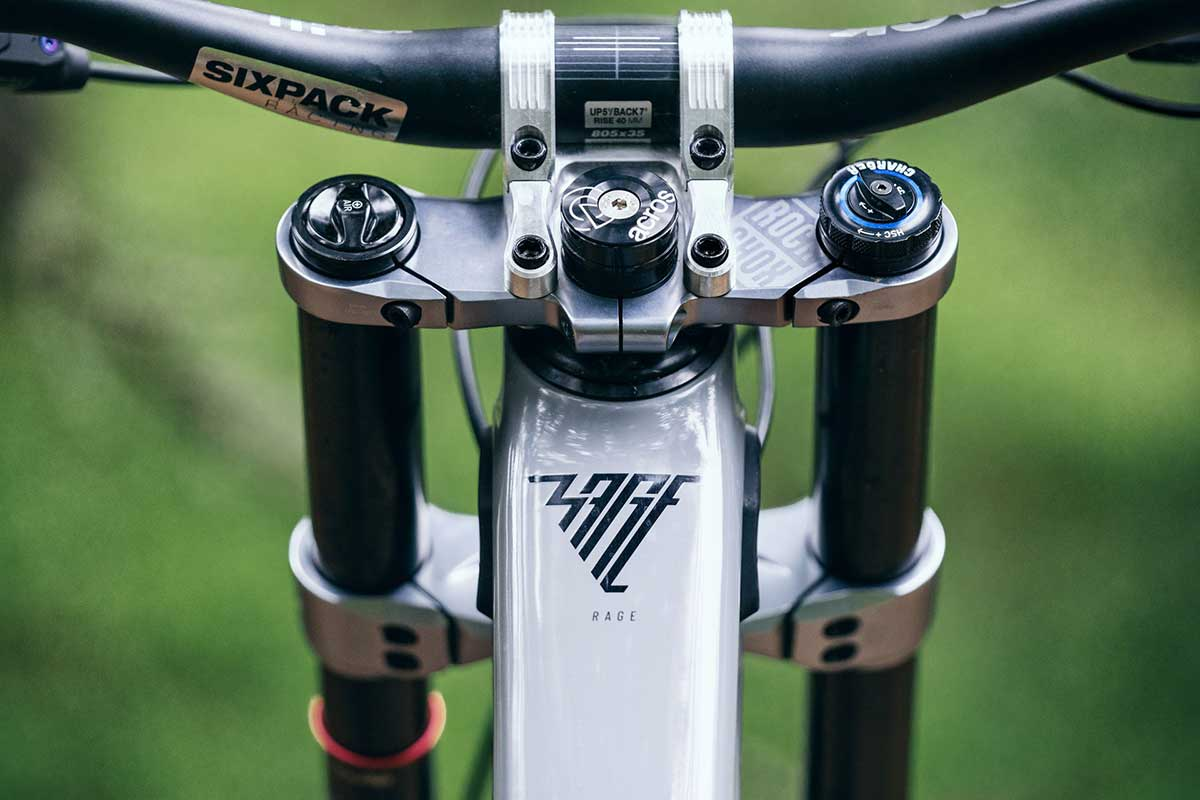 2021 propain rage cf frame bumpers