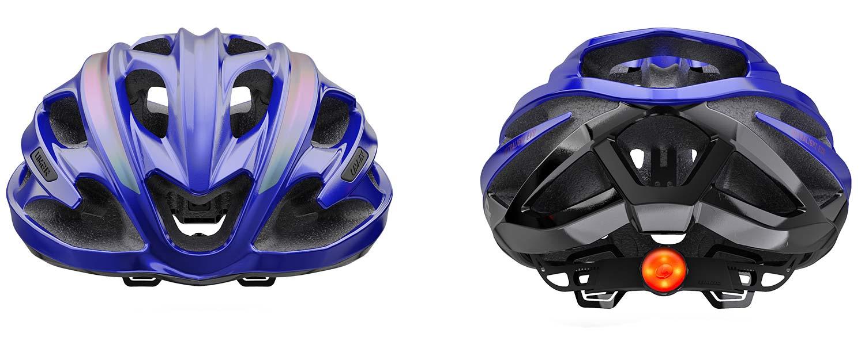 Limar Ultralight Evo super lightweight road bike helmet,front & rear views