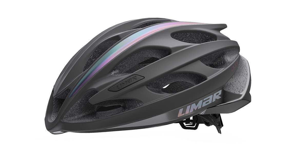 Limar Ultralight Evo super lightweight road bike helmet,black side