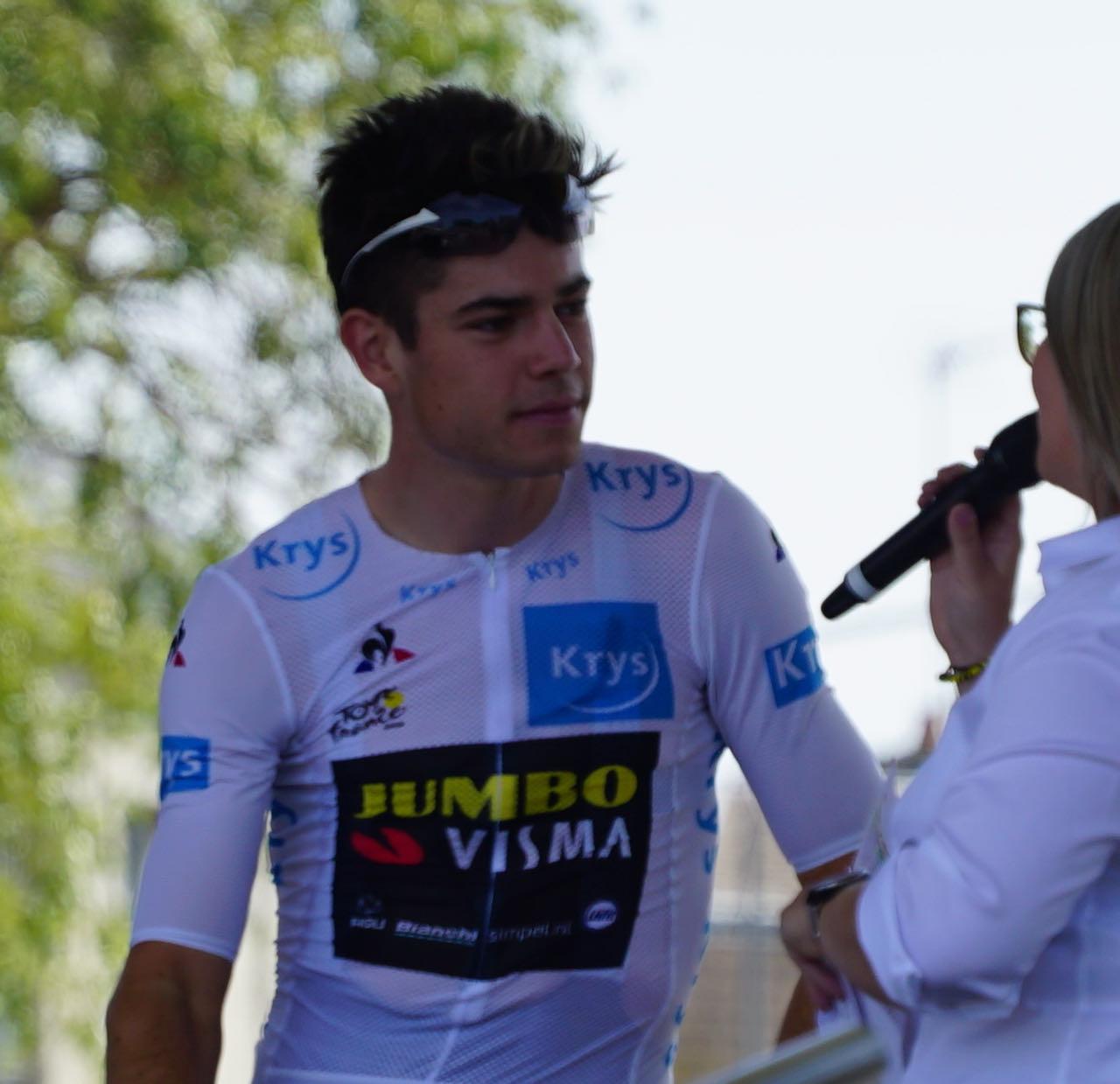 Woute Van Art Tour de France interview
